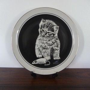 Kittens World Plate by Drougett
